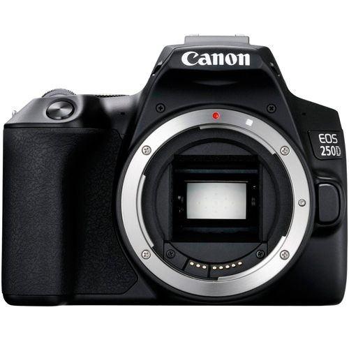 Canon EOS 250D Gehäuse schwarz - Frontansicht