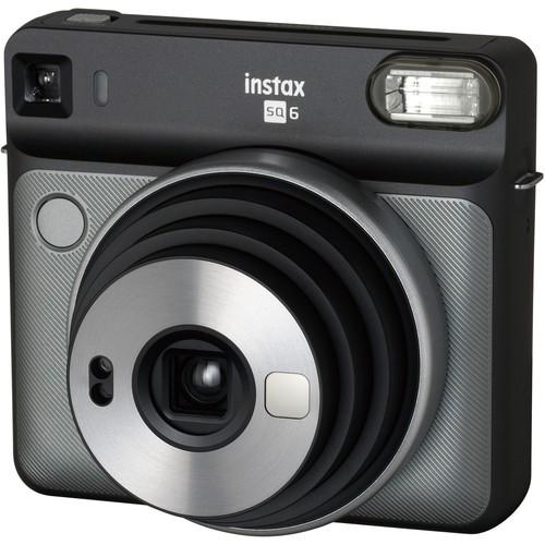 Fujifilm Instax Square SQ6 Sofortbildkamera - Schrägansicht