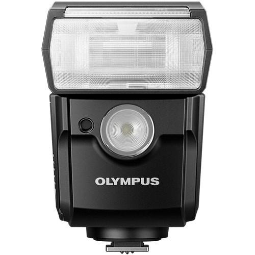 Olympus FL-700WR Systemblitz - Frontansicht