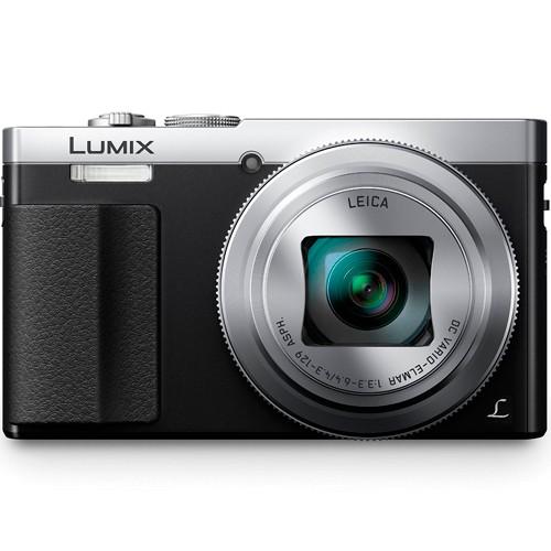 Panasonic Lumix DMC-TZ71 silber - Frontansicht