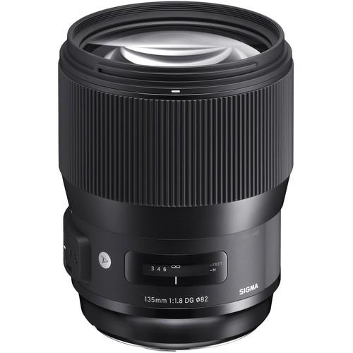 Sigma 135mm f/1.8 DG HSM Art Objektiv - Frontansicht