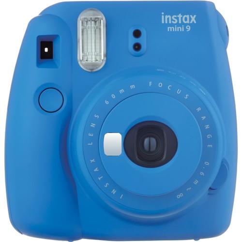 Fujifilm Instax Mini 9 dunkelblau - Frontansicht