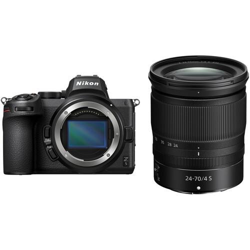Nikon Z5 Kit mit 24-70mm f/4 S Objektiv