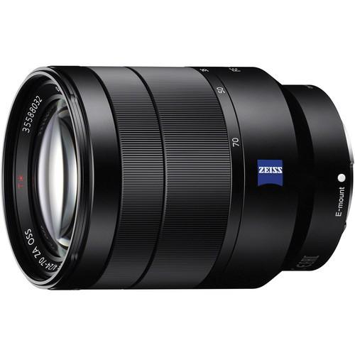 Sony SEL Vario-Tessar T FE 24-70mm - Frontansicht