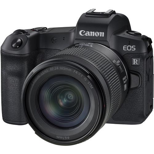 Canon EOS R Kit mit RF 24-105mm f/4-7.1 IS STM Objektiv