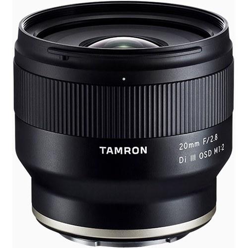 Tamron 20 mm f/2,8 Di III OSD Objektiv für Sony E - Frontansicht