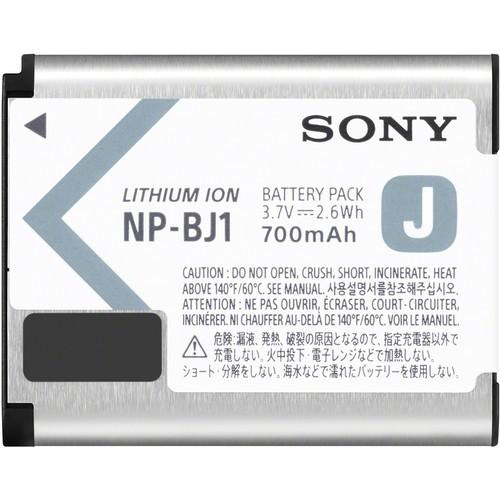 Sony NP-BJ1 Li-Ionen Akku - Frontansicht