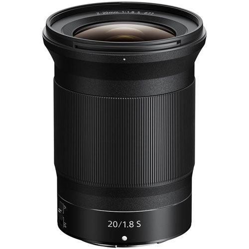 Nikon Z 20mm f/1.8 S Objektiv - Frontansicht