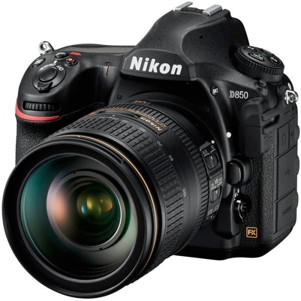 Nikon D850 Kit - Schrägansicht