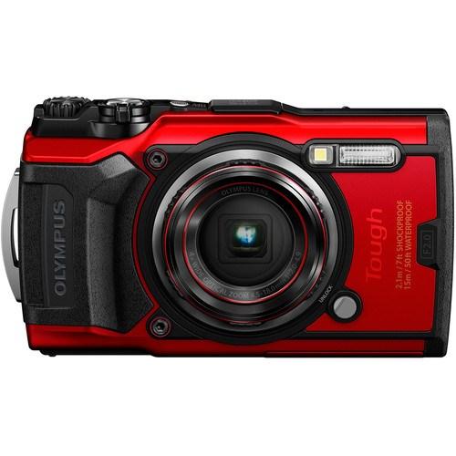 Olympus Tough TG-6 Outdoor Kamera Rot