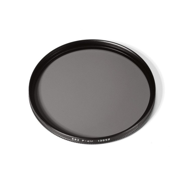 Leica Filter Pol-Circular 82mm schwarz - Topansicht