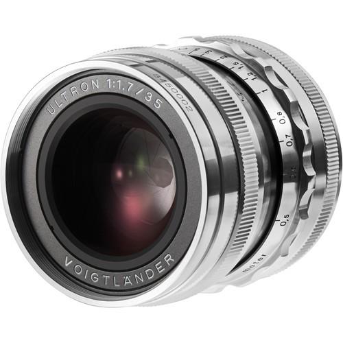 Voigtländer VM Ultron 35mm f/1.7 ASPH. Objektiv silber