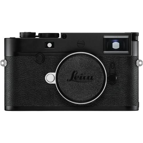 Leica M10-D Gehäuse schwarz - Frontansicht