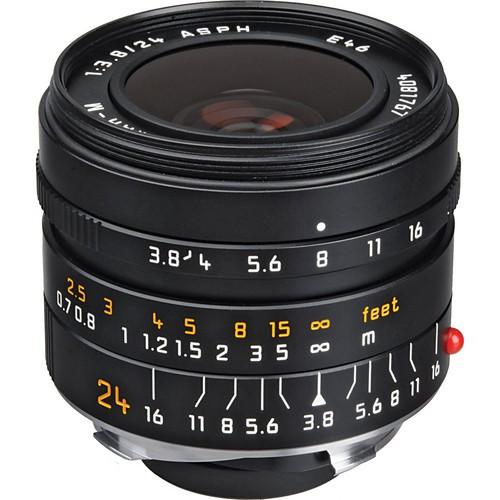 Leica Elmar-M 24mm F3.8 ASPH Objektiv stehend