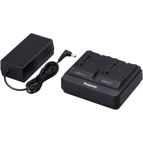 Panasonic AG-BRD50 Doppel-Schnellladegerät - Topansicht