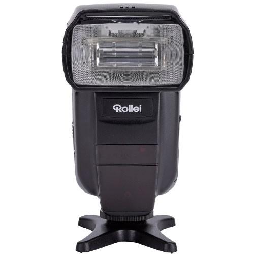 Rollei Blitzgerät 56 für Canon & Nikon - Frontansicht