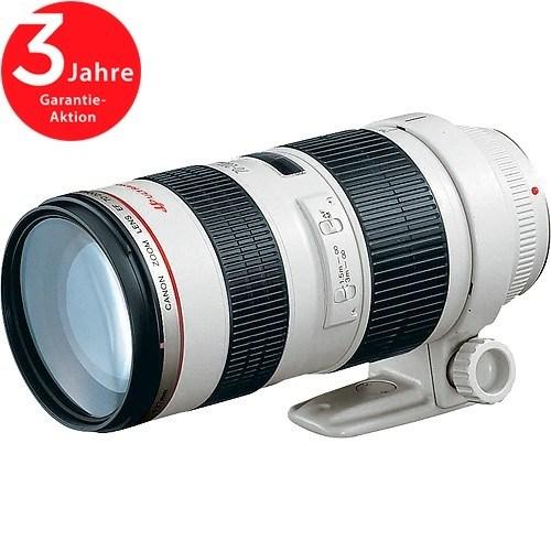Canon EF 70-200mm f/2.8 L USM Objektiv - Schrägansicht