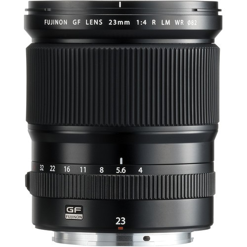 Fujifilm GF 23mm f/4 LM WR Objektiv - Frontansicht