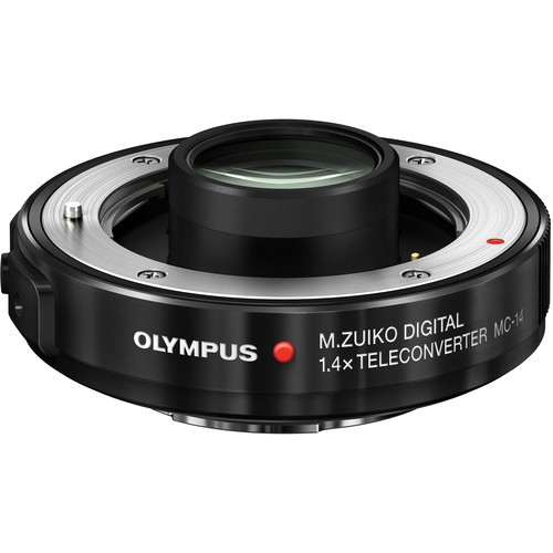 Olympus M.Zuiko Digital 1.4x Teleconverter MC14 - Frontansicht