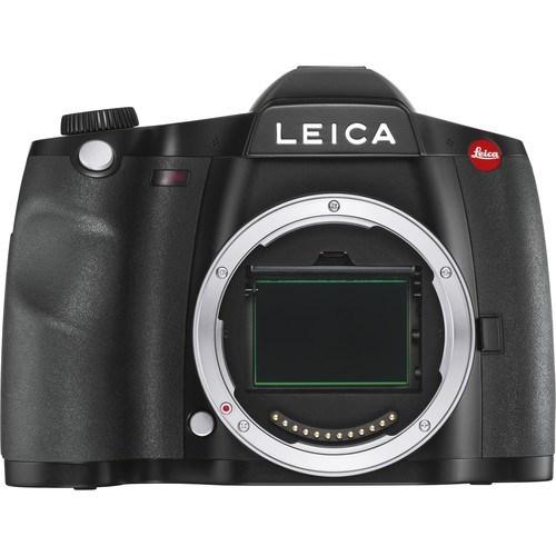 Leica S3 Gehäuse schwarz (10827) - Frontansicht