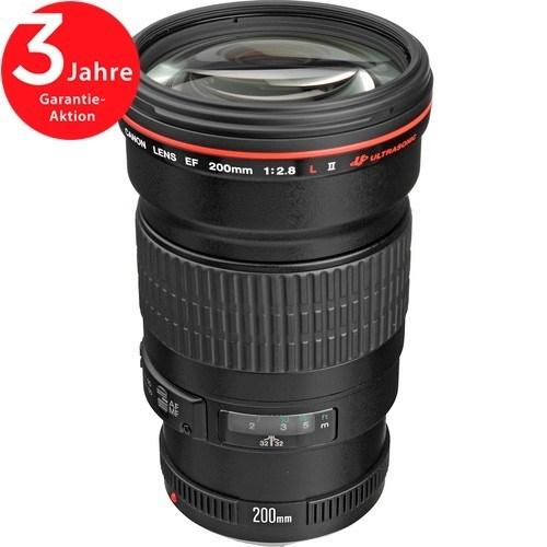 Canon EF 200mm f/2.8 L II USM Objektiv - Schrägansicht