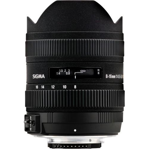 Sigma AF 8-16mm f/4.5-5.6 DC HSM Objektiv für Canon