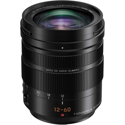 Panasonic Leica DG Vario-Elmmarit 12-60mm f/2.8-4 Objektiv - Frontansicht