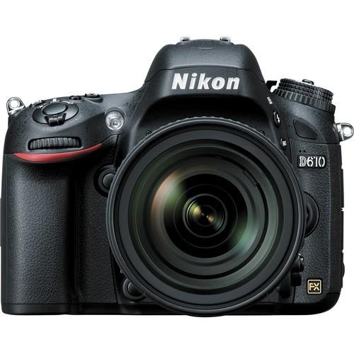 Nikon D610 Kit mit AF-S 24-85mm - Frontansicht