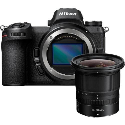 Nikon Z6 Kit mit Z 14-30mm S Objektiv & FTZ Adapter - Frontansicht