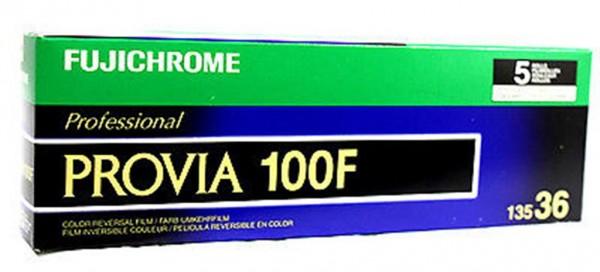 Fujifilm Fujichrome RDP-III 135-36 Provia 100F
