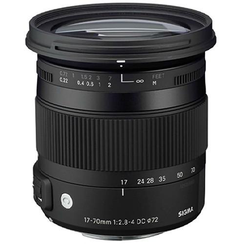 Sigma 17-70mm f/2.8-4 DC Macro OS HSM Contemp. Objektiv für Nikon
