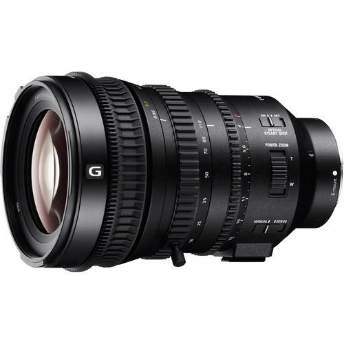 Sony E PZ 18-110mm F4.0 G OSS - Frontansicht