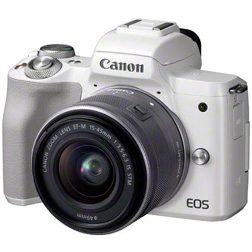 Canon EOS M50 Kit - Schrägansicht