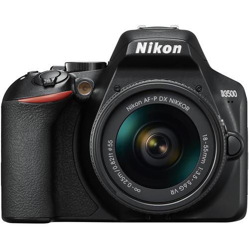 Nikon D3500 Kit - Frontansicht