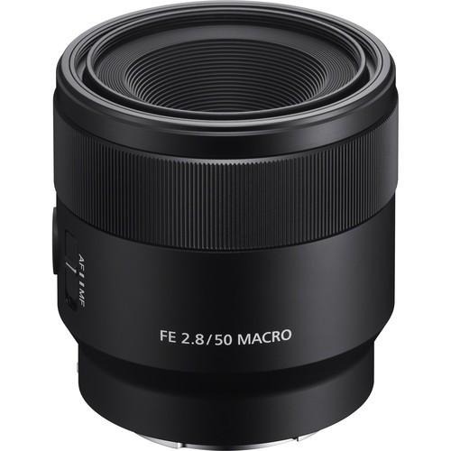 Sony FE 50mm F2.8 Makro - Frontansicht