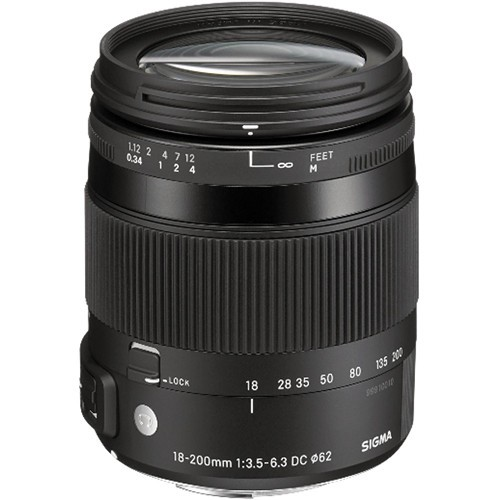 Sigma 18-200mm f/3.5-6.3 DC Macro OS HSM Contemp. Objektiv für Sony