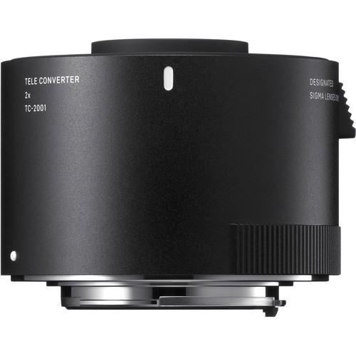 Sigma Telekonverter 2x TC-2001 für Nikon - Frontansicht
