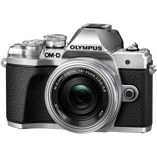 Olympus OM-D E-M10 Mark III Kit - Schrägansicht
