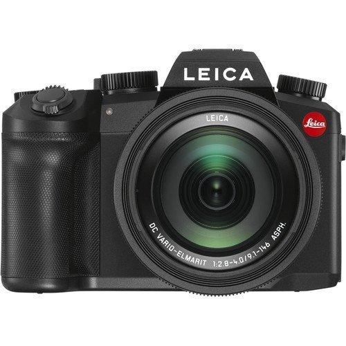 Leica V-Lux 5 schwarz - Frontansicht