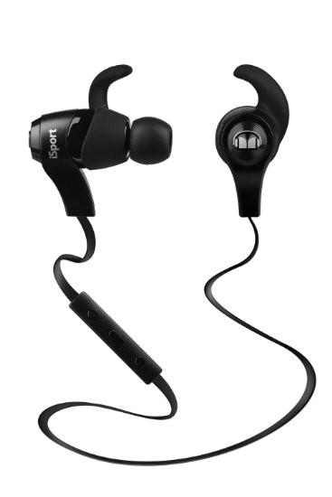 Monster iSport Wireless Kopfhörer schwarz