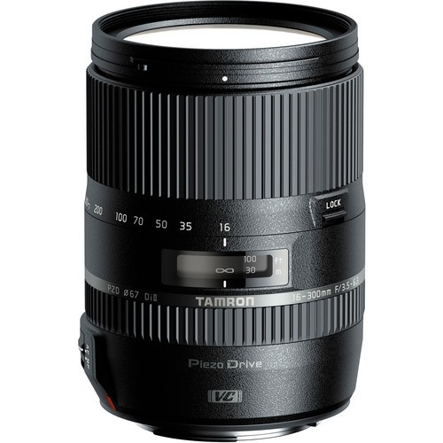 Tamron AF 16-300mm f/3.5-6.3 Di II VC PZD Makro Objektiv für Canon