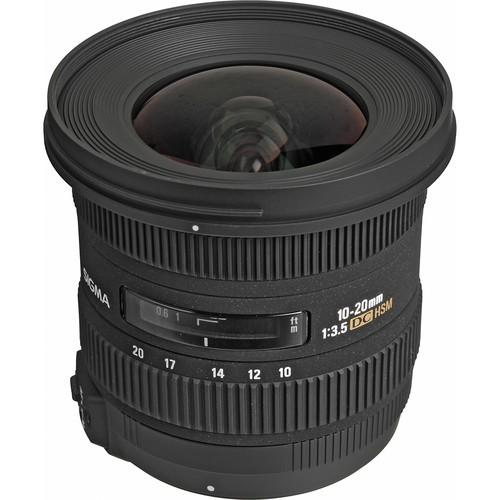 Sigma 10-20mm f/3.5 EX DC HSM Objektiv für Nikon