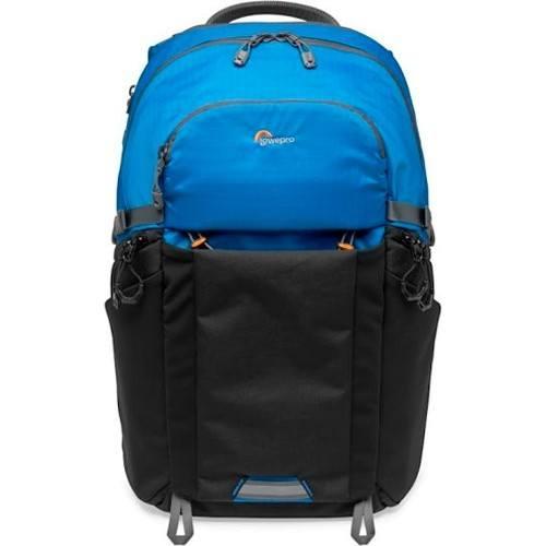 Lowepro Photo Active BP 300 AW Rucksack blau/schwarz - Frontansicht