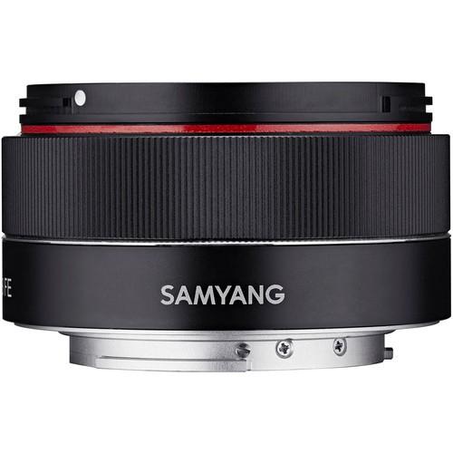 Samyang AF 35mm f/2.8 für Sony-E - Frontansicht