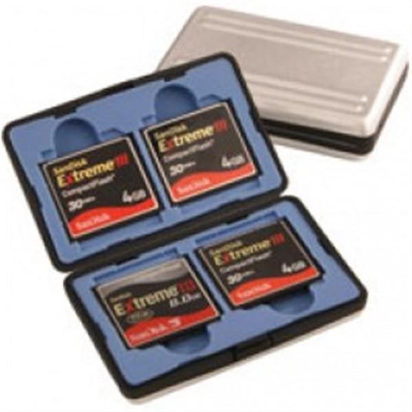 B.I.G. Metall Etui für 4x CompactFlash Karte