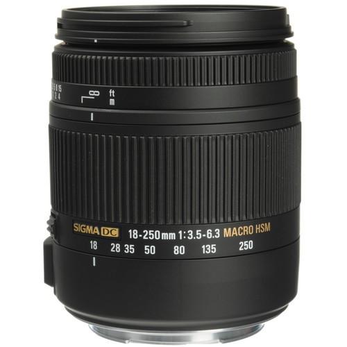 Sigma 18-250mm f/3.5-6.3 DC OS HSM Objektiv für Nikon