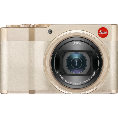 Leica C-Lux Systemkamera light gold - Frontansicht