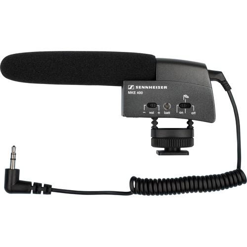 Sennheiser MKE400 Ultra Kompakt Mikrofon