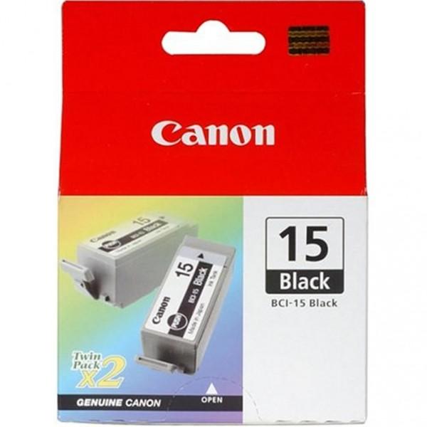 Canon BCI-15BK Tinte schwarz, 2er Pack