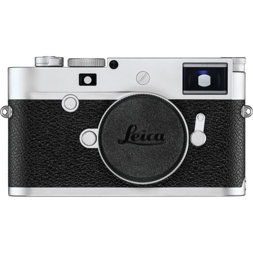 Leica M10-P Gehäuse silber - Frontansicht